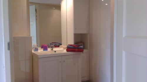Frisse badkamer