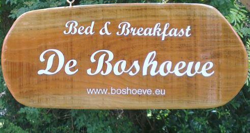 Hier is het. Ded Boshoeve Bed & Breakfast
