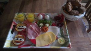 Boshoeve, Ontbijtje